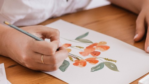 Relaxation therapy with Watercolours - Basic