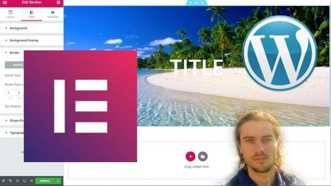Elementor create a Wordpress website without coding