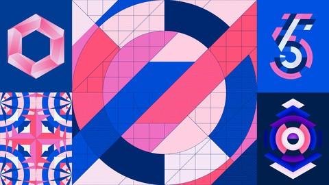 Mastering Geometric Grid-Based Designs in Adobe Illustrator