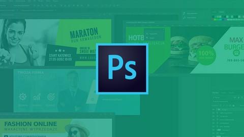 Kurs Photoshop projektowanie grafiki internetowej, bannerów