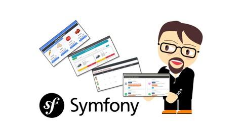 Créer 4 applications avec Symfony v4 (évolution progressive)