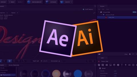 Kurs animowane logo - After + Illustrator