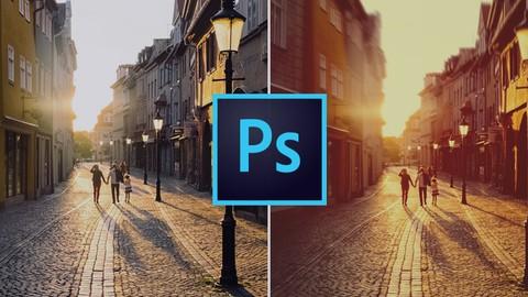 Kurs Photoshop efekty świetlne, flary i słońce - fotografia