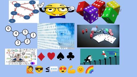 Discrete Mathematics for Computer Science in C, Java, Phyton
