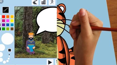 """le PACK: """"Kid Cartoon Maker"""" et """"Le dessin pour enfants"""""""