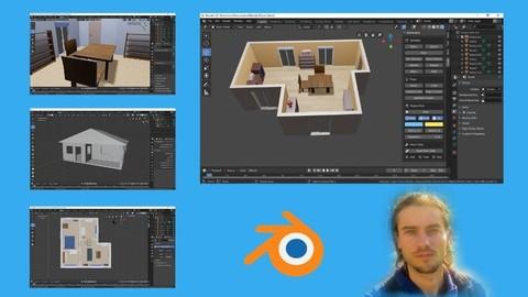 Blender pour le design d'intérieur et l'architecture