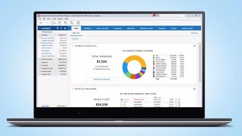 Organize Your Money With Quicken - Basic & Advanced