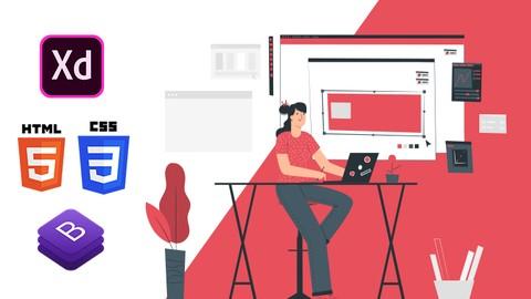Web Tasarım Eğitimi (HTML + CSS + BOOTSTRAP + ADOBE XD)