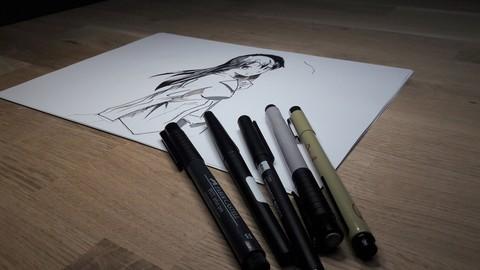 MANGA les bases du dessin a la main