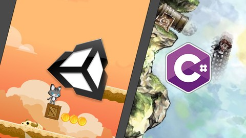 Unity 2D and C# for beginner game developers.