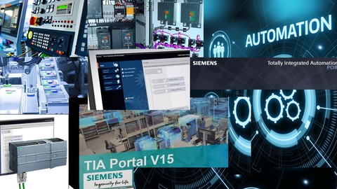 Tia Portal ile Siemens S7 1200 PLC ,Panel ve WinCC SCADA