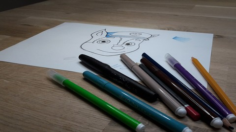 """The PACK """"teach to children how to draw"""""""