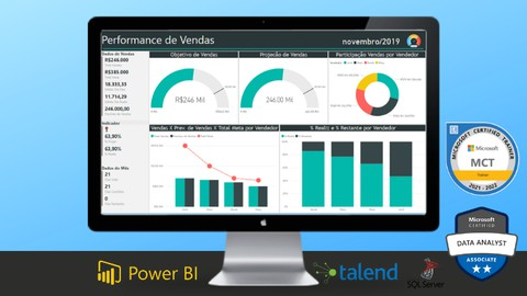 Business Intelligence Completo do ETL ao Power BI na Prática