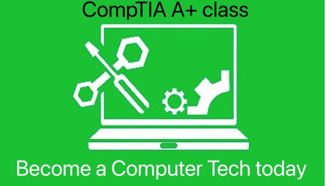 Computer technician training for CompTIA A+ certification
