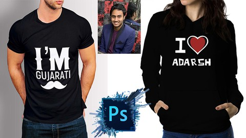 Bestselling T-Shirt Design Masterclass with Photoshop
