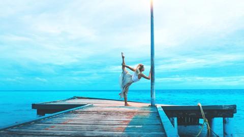 Estiramientos de bailarina para el cuerpo tonificado y ágil.