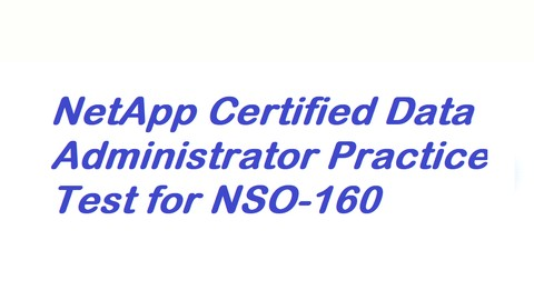 NetApp Clustered ONTAP NSO-160 Practice Test