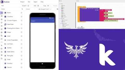 Kod Yazmadan Mobil Uygulama Geliştirme (Kodular io)