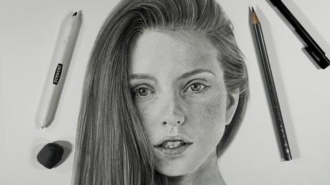Curso de Dibujo Realista a lápiz de grafito
