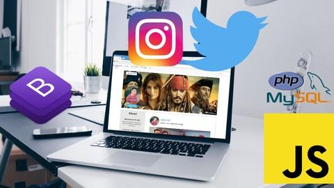 Social Network App - Instagram Clone - JavaScript PHP MySQLi