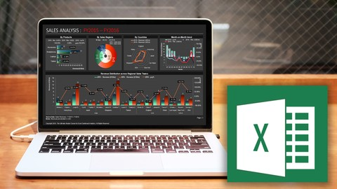 Ultimate Master Course for Excel Dashboard Analytics