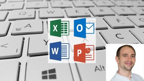 Master Keyboard Shortcuts - Excel, Outlook, Word, PowerPoint