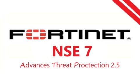 Fortinet NSE7 - Advances Threat Proctection 2.5 ( 2020 )