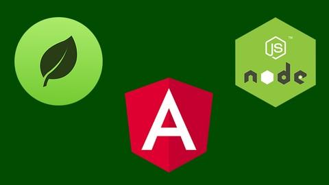 Angular 8 | 9 + Node.js+MongoDB (Gerçek Dünya Projesi)