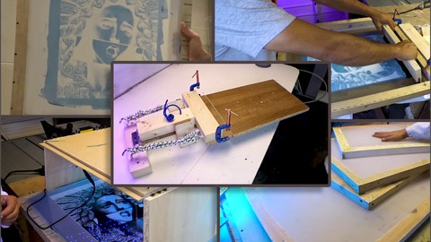Tshirt screen printing business for under 100 bucks at home!