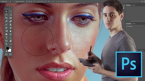 Retoque de Retrato Beauty con Photoshop