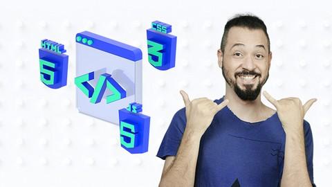 Front-End Design Essencial - HTML, CSS e JS Completo do Zero