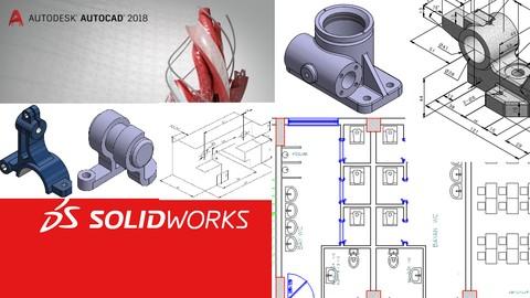 AutoCAD ve SolidWorks ile Tasarım