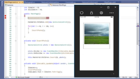 Xamarin.Forms - Build A Easy Cross Platform App W/ Gestures