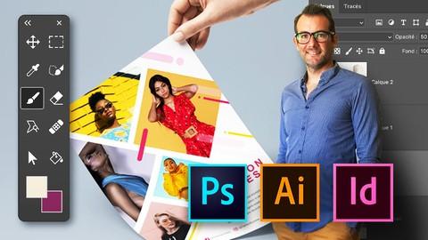SUPER DÉBUTANT MasterClass -Photoshop, Illustrator, Indesign