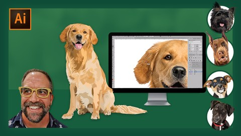 Vector Illustration 1: Drawing Dogs & Animals