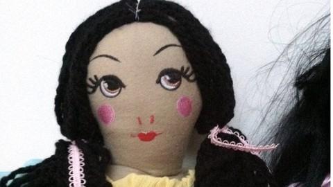 How to Make a Pretty Fabric Cloth Doll