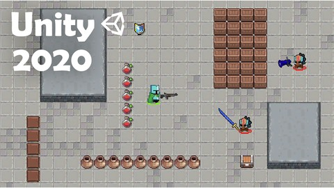 Learn to create a 2D Action Roguelike Game in Unity 2021
