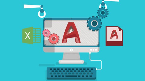 The complete AutoCAD Automation tasks course Using Script