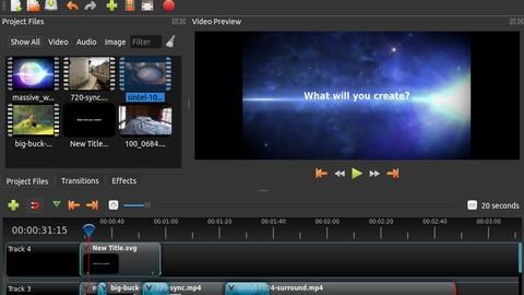 Ucretsiz Video Duzenleme Programi Openshot Dersleri
