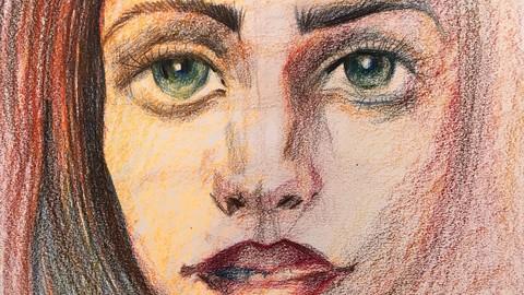 Portrait. Teil 1. Kreatives Zeichnen
