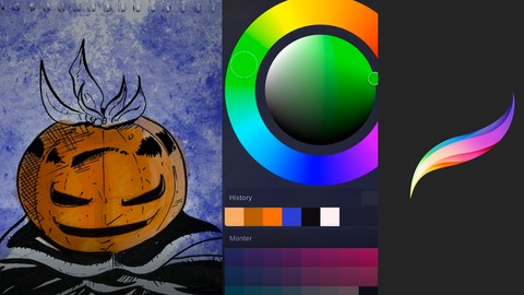 PROCREATE: Illustrations step by step