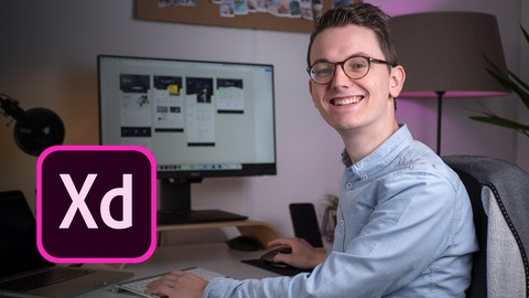 Learn Adobe Xd Webdesign: Design websites from zero: UX & UI