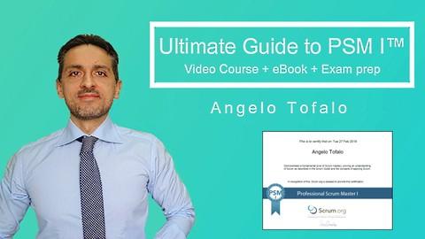 2021 Scrum Master Certification: VideoCourse +eBook+160 Test