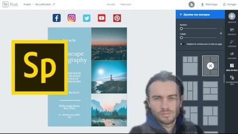 Adobe Spark réaliser des visuels attractifs pour le web