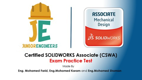 SOLIDWORKS CSWA Certification Practice Test