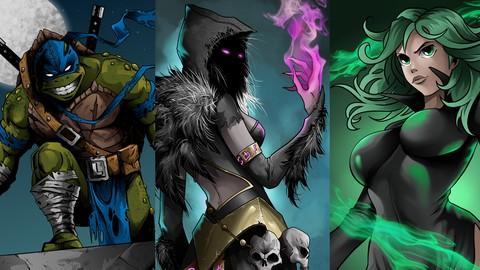 La colorisation de manga et comics dans Krita