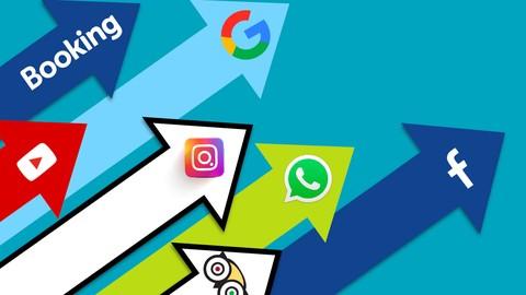 Gestion des réseaux sociaux: De Débutant à Expert 2021 |+25h