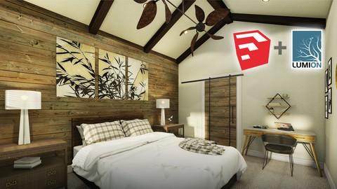 SketchUp 2020 Interior Room Design