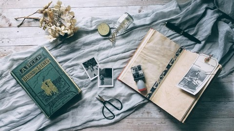From Vintage Book to Handmade Journal - A Cheat's Guide