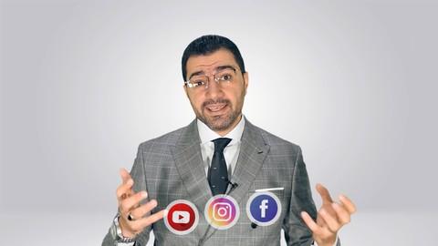 كورس إعلانات فيسبوك و إنستجرام ويوتيوب وسناب شات المتكامل